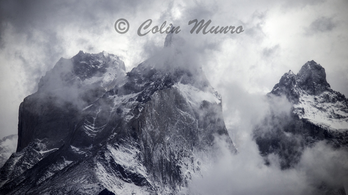 Cuernos del Paine, Torres del Paine National Park, Chile, Art Print for sale, Colin Munro Photography