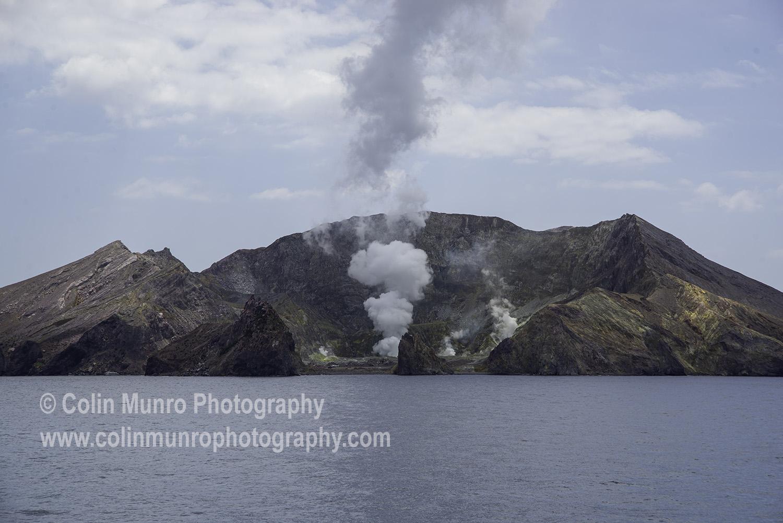 White Island, aka Whakaari, volcano, Bay of Plenty; New Zealand